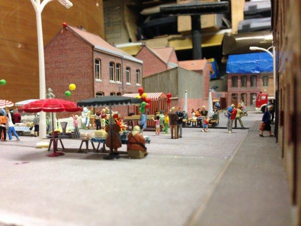 Module du village et du marché du réseau ho
