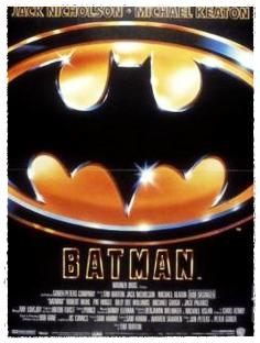 BATMAN Tim Burton, 1989