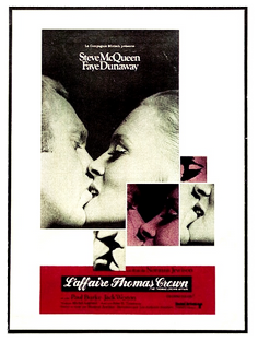 L'AFFAIRE THOMAS CROWN Norman Jewison, 1968