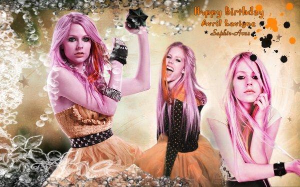 Happy Birthday ! Avril