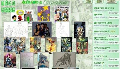 Évolution site : une nouvelle page consacrée aux galeries de dessins