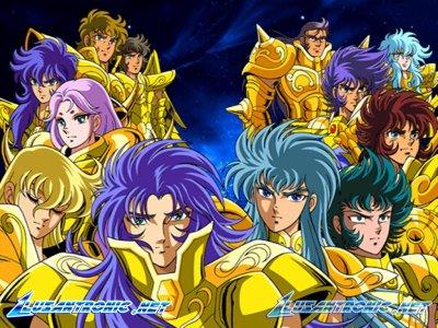 Les douze chevalier d'or réunis