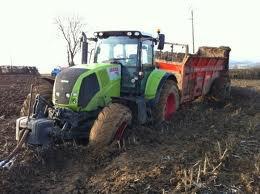 tracteur enlissé