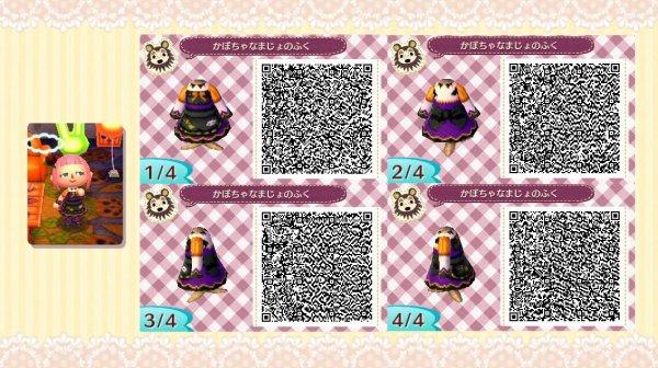 qr code animal crossing new leaf robe d'halloween - Blog de Poképunk