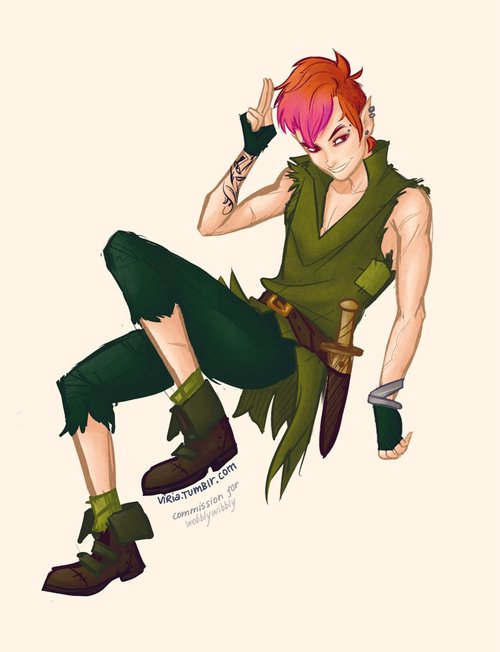 peter pan punk