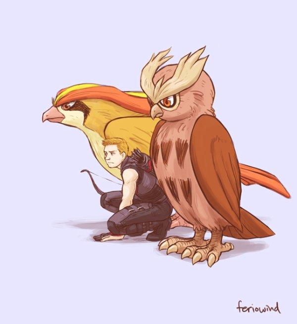 pokemon and avenger
