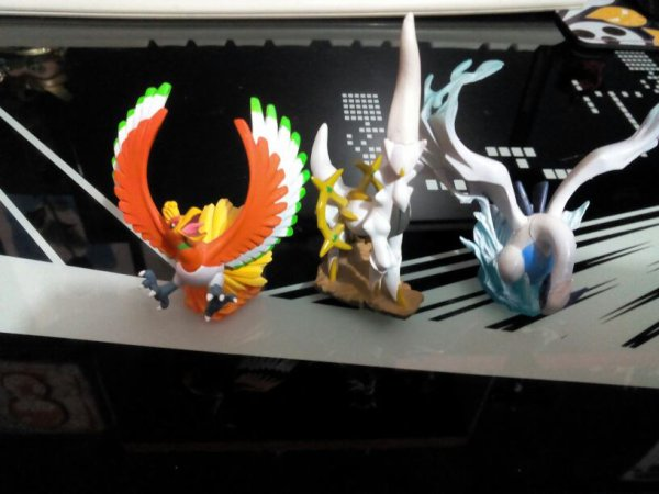 Les figurines colector des pack heart gold soul silver