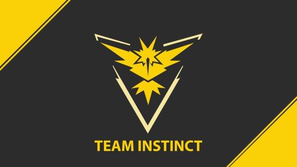 pokemon go team jaune et fière de l'être