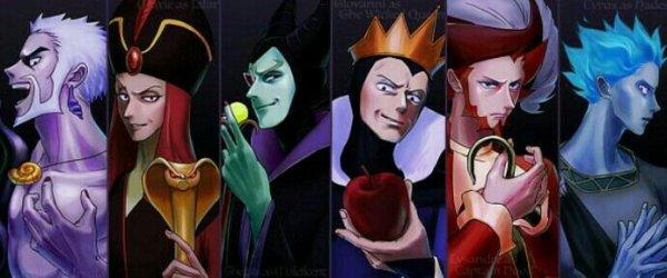 Les leaders de team pokémon en antagonistes Disney