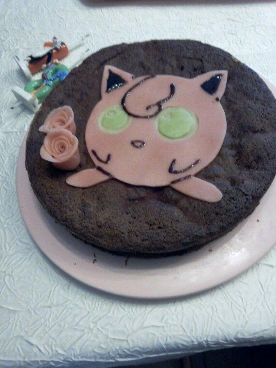 Mon gâteau d'anniversaire pour mes 18ans