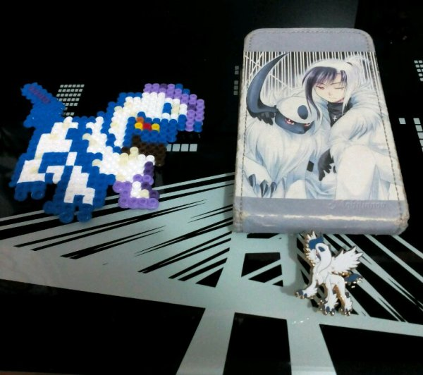 Collection de goodies absol