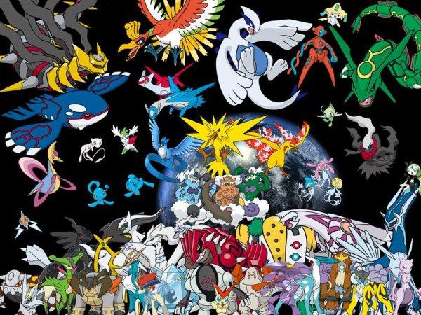 Un pokemon légendaire qu'est ce que c'est ?