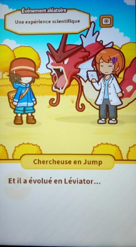 Magicarpe jump léviator shiny