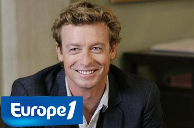 "On parle de "" Mentalist "" & Simon Baker sur EUROPE 1"