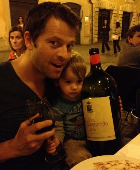 Misha et West  a Rome an 2012
