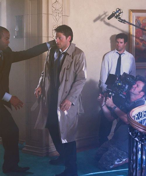 supernatural photo tournage