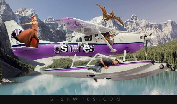GISHWHES 2013 lancement de la plus grand chasse aux tresort  organisait pars misha