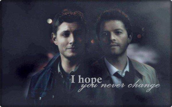 montage Dean et castiel