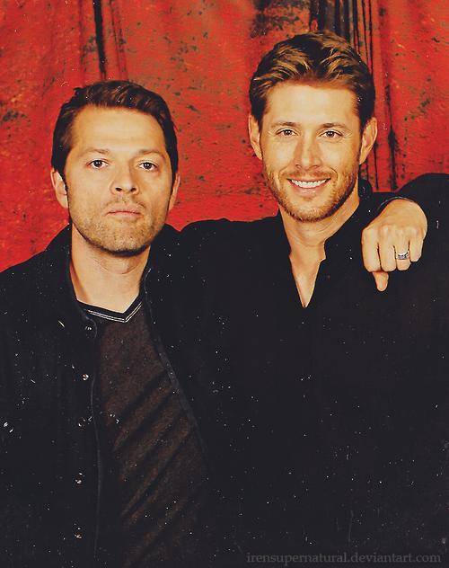 Jensen et Misha