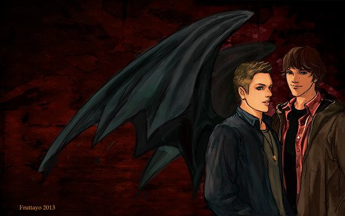 trop beaux se fans arts  Dean et Sam