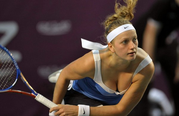 FED CUP deuxième simple. Petra Kvitova VS Kristina Mladenovic