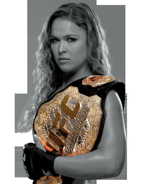 quelque de la MMA (taille et poids) Ronda Rousey