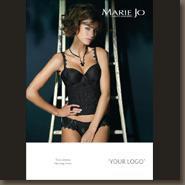 Corsage noir 85B Marie Jo