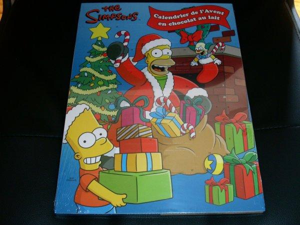 Calendrier de l'avent (chocolat) Simpson 2014