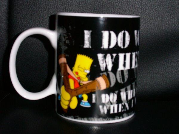 Tasse/mug Bart Simpson