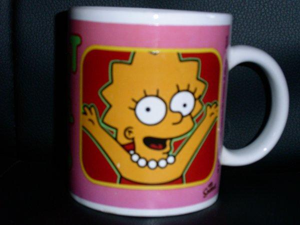 Tasse/mug Lisa Simpson Quick