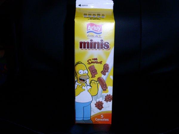 Biscuit Simpson Espagne