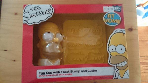 Coquetier Homer Simpson
