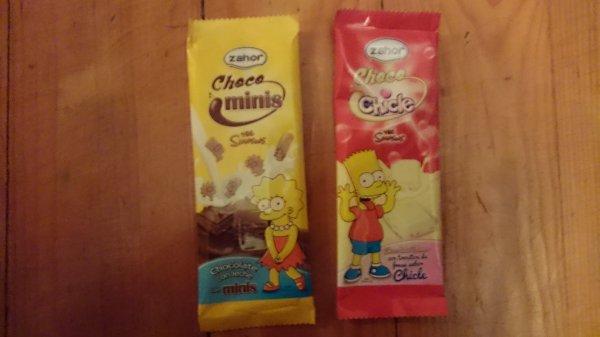 Chocolat Simpson Portugal