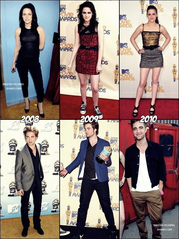 .Robsten aux MTV Movie Awards .