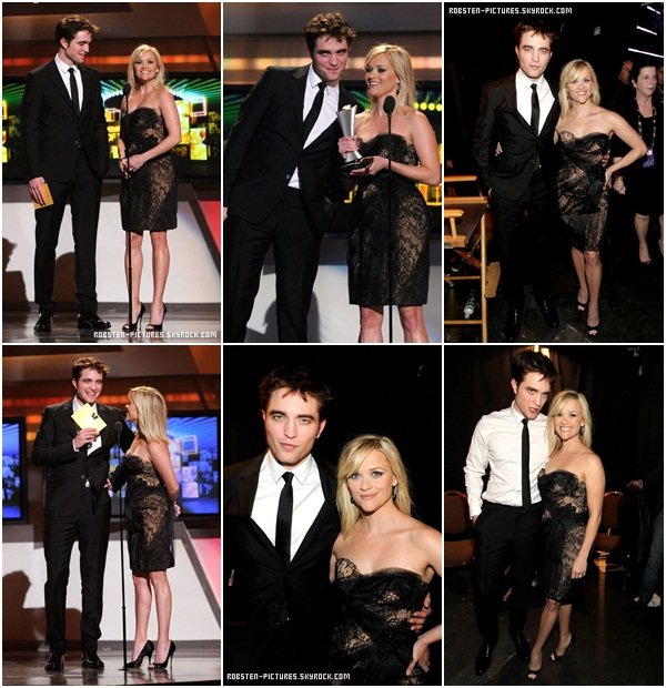 .03.04.11 : Rob & Reese at the ACM Awards in Las Vegas .
