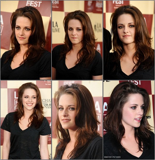 .21.06.11 : Kristen at the 2011 LAFF Premiere of 'A Better Life' .