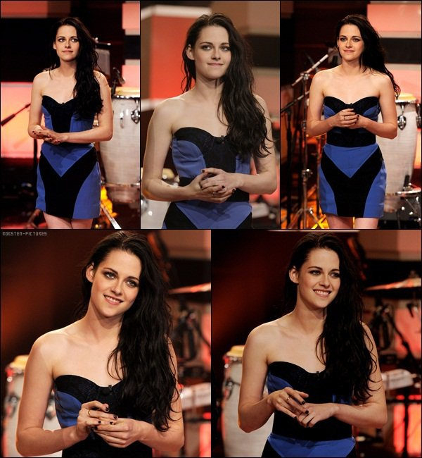.Kristen on The Tonight Show with Jay Leno .