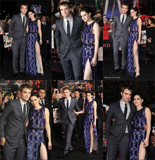 ".The Twilight Saga : Breaking Dawn - Part 1"" World Premiere ."