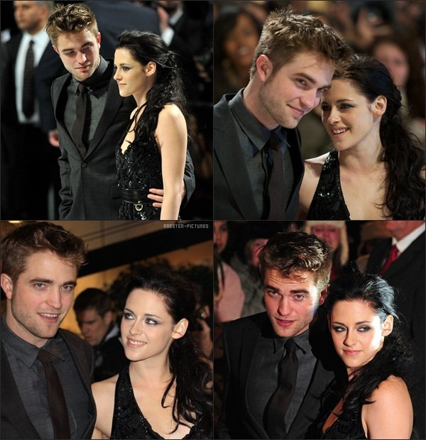 ".Kristen, Rob & Taylor at ""The Twilight Saga : Breaking Dawn - Part 1"" London Premiere ."