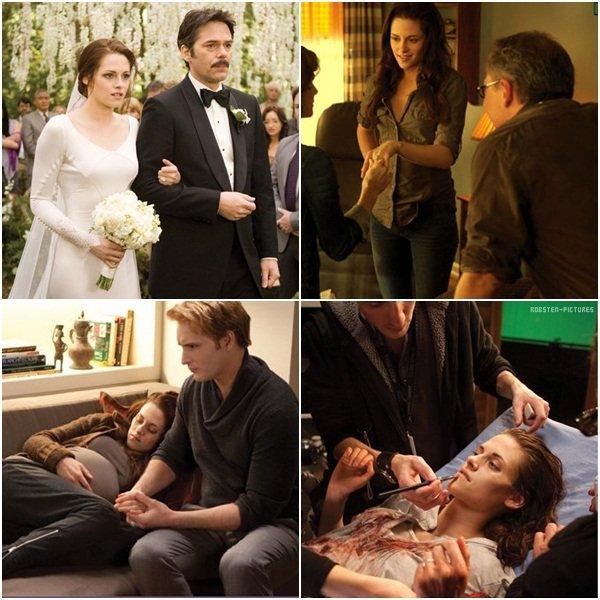 .Nouvelles images de Breaking Dawn Part 1 .