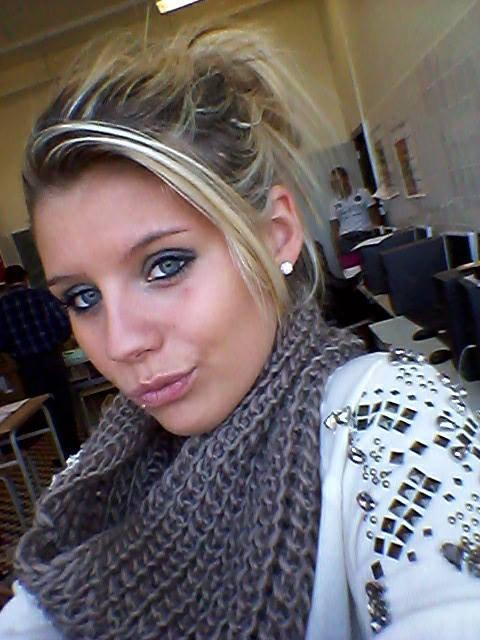 Moi en classe ! Photo photo! ♥