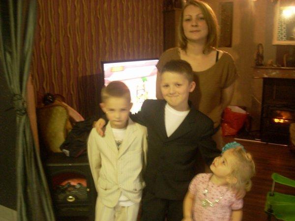 ma fille et mes petits enfants