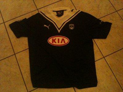 extraordinaire maillot de bordeaux ligue des champions porté par marouane CHAMAKH!!!!