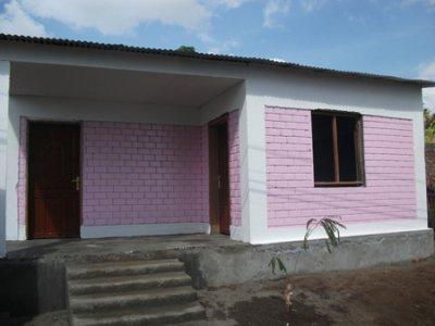 La première maison du projet habitat a vu le jour à Mohéli