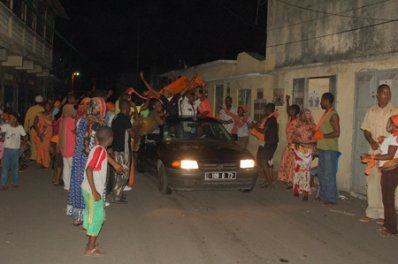 COMORES : ELECTIONS DANS LA PENOMBRES