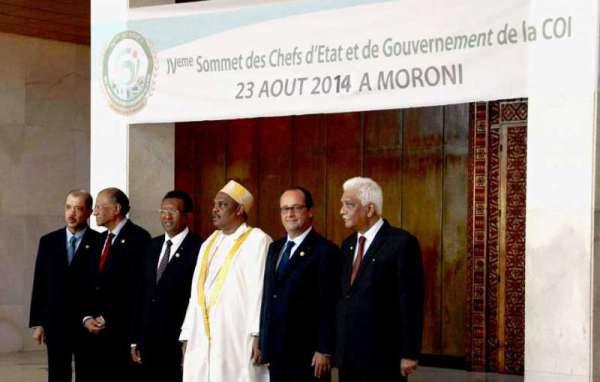 Déclaration du IV sommet du COI commission de l'océan indien