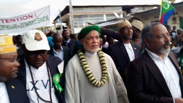 Marche pacifique: Sambi a réussi son pari