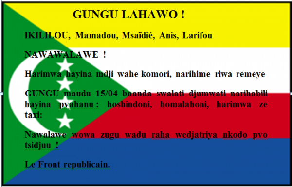 GUNGU LAHAWO!