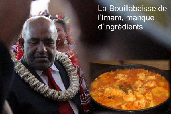 La Bouillabaisse de l'Imam manquerait d'ingrédients.