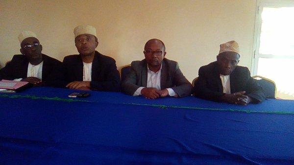 Conférence de presse sur le conflit Tsidjé-Salimane